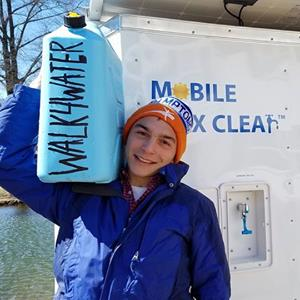 Mission Clean Water and its WALK across America
